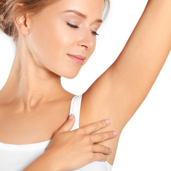 Leczenie nadpotliwości dłoni, pach, stóp